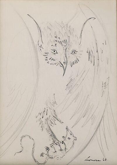 Leonora Carrington, 'Owl with Prey', 1960