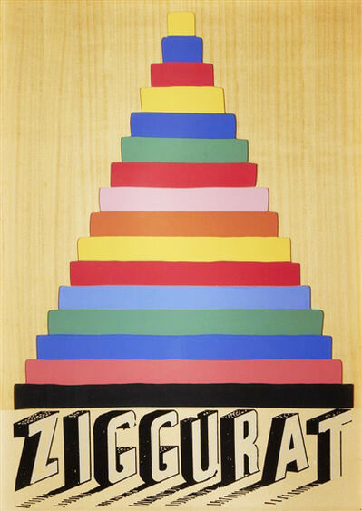 Joe Tilson, 'Ziggurat', 1975