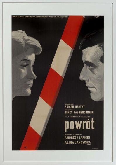 Wojciech Fangor, 'Powrot', 1960