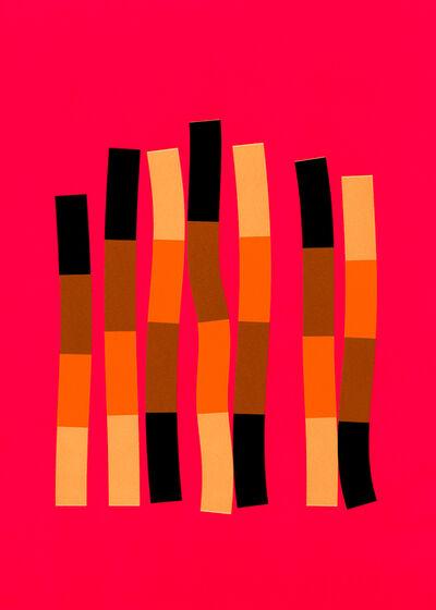Laine Groeneweg, 'Strands, 2019, Silkscreen print, unframed edition of 10', 2019