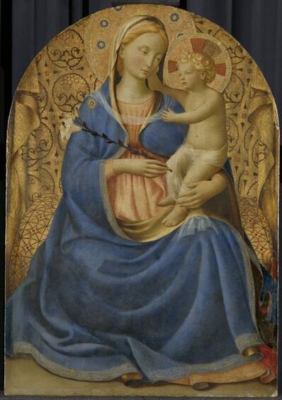 Fra Angelico, 'Madonna of Humility', ca. 1440