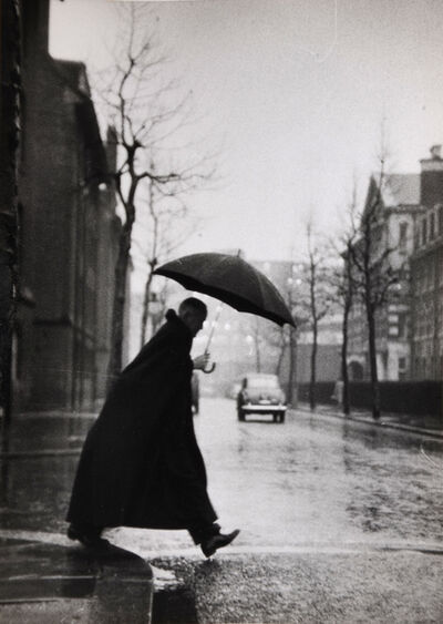 Thurston Hopkins, 'The Rev. Rhinedorp, Vicar of Pimlico, Steps out', 1954