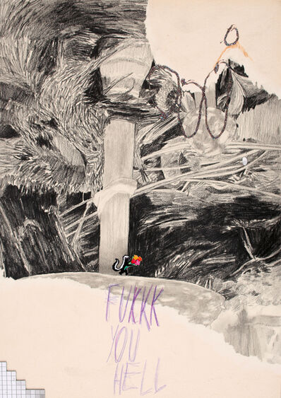 Julia Zastava, 'FUKKK YOU HELL', 2019