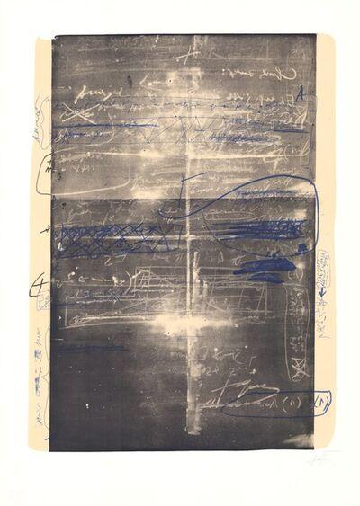Antoni Tàpies, 'Oevre grave', 1970-1980