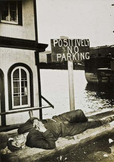 Weegee, 'Positively No Parking'', late 1930s–early 1940s