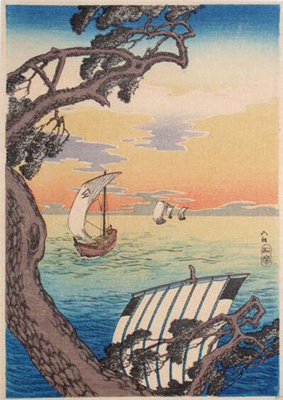 Hiroaki Takahashi (Shotei), 'Coming Ships', ca. 1924-1935