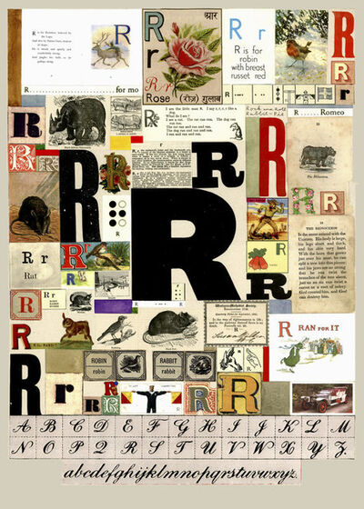Peter Blake, 'The Letter R', 2007