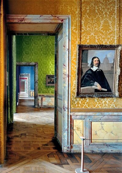 Robert Polidori, ' Salle le sentiment religeux, (7) ANR.01.007, Salles du XVII, Aile du Nord - R.d.C, Château de Versailles, Versailles', 2005