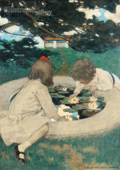JESSIE WILLCOX SMITH, 'The Lily Pool', 1903