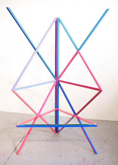 Kelley Johnson, 'Untitled Radio Lounge Series (regular seat)', 2018