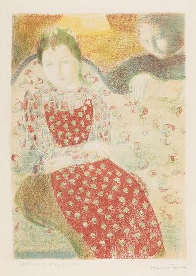 Maurice Denis, 'Sur la Canape d'Argent pale (Cailler 117)', 1898