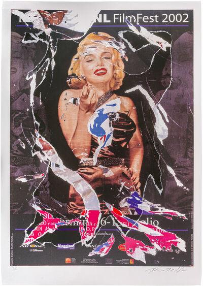 Mimmo Rotella, 'Omaggio a Marilyn'