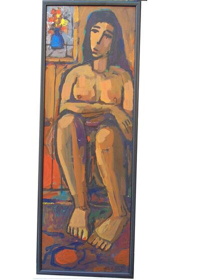Alex Khattab, 'Seated Nude', 2019