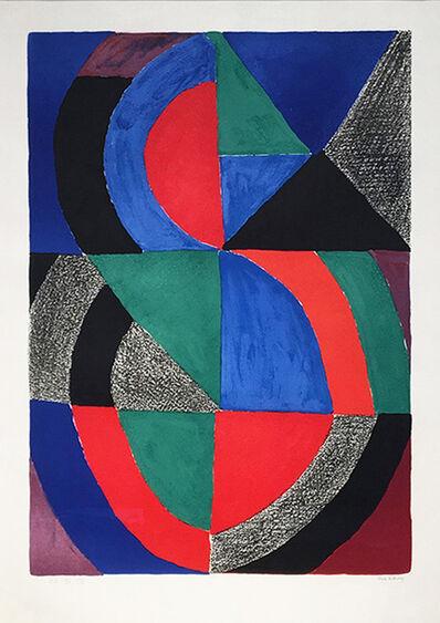 Sonia Delaunay, 'Le Grande Icone ', 1965
