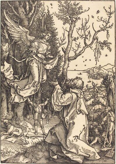 Albrecht Dürer, 'Joachim and the Angel', ca. 1504