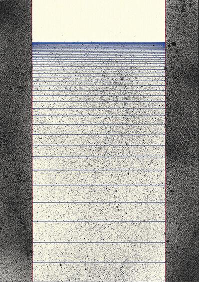 Callum Russell, 'Lined Paper VIII', 2017