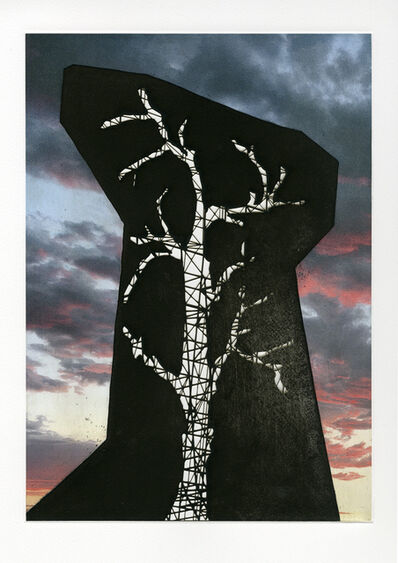 Nicola López, 'Sunsets and Blue Skies: Hollow Monument', 2018