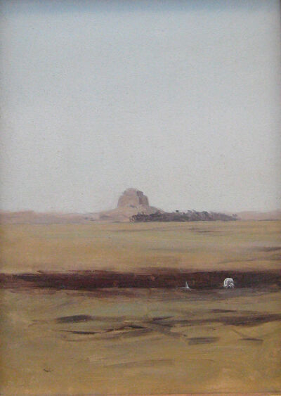 Lockwood de Forest, 'Looking Towards the Maidum Pyramid, Egypt (Day)', 1878