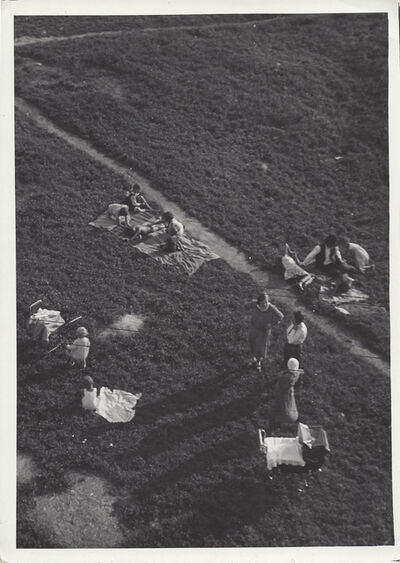 Imre Kinszki, 'Camping', ca. 1932