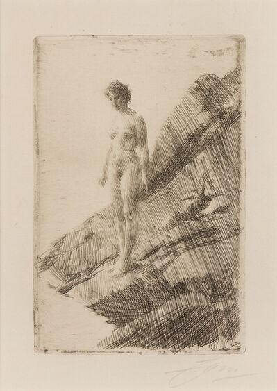 Anders Leonard Zorn, 'Skramda (Frightened)', 1912