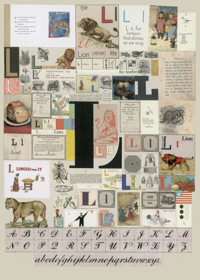 Peter Blake, 'The Letter L', 2007