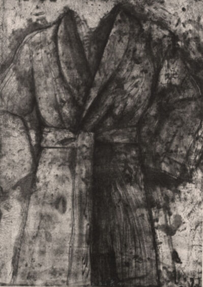 Jim Dine, 'Black and White Robe', 1977