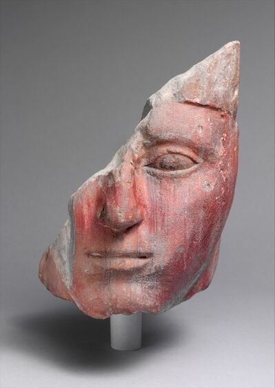 Unknown Egyptian, 'Head from a Statue of King Amenhotep I', ca. 1525–1504 B.C.