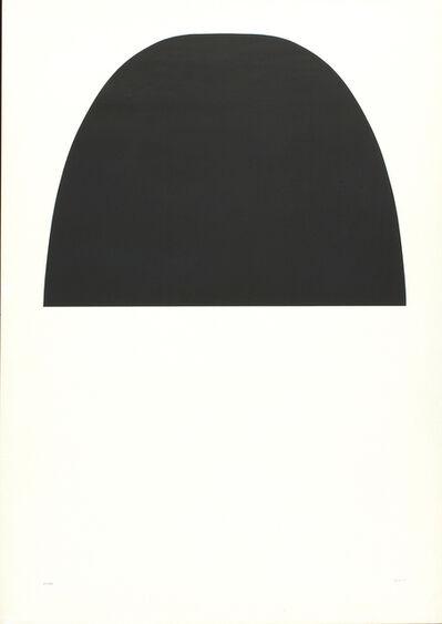 Alberto Burri, 'Black and white', 1971