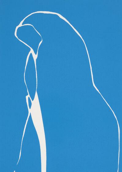 Gary Hume, 'Blue Nun', 2016