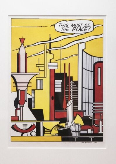 Roy Lichtenstein, 'This Must Be The Place  ', 1965