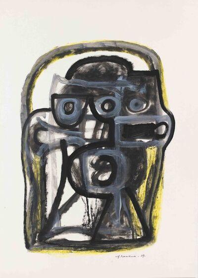 """Alexander Pankin, '""""A head"""" 1', 1997"""