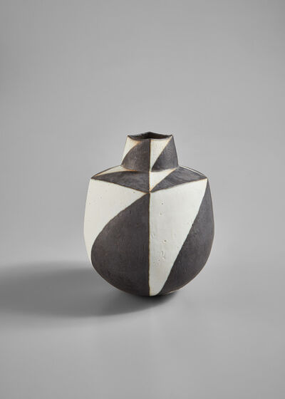 "John Ward, '""Black and White Vessel""', circa 1995"