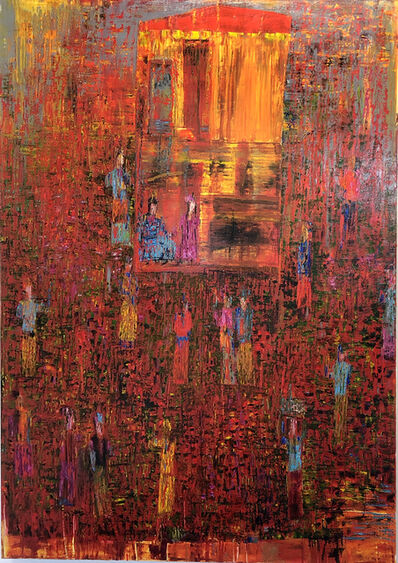 Reza Derakshani, 'Sunset Garden Party'