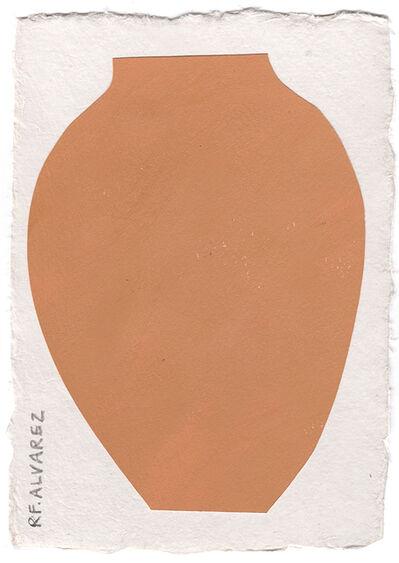 RF Alvarez, 'Red Vase', 2019