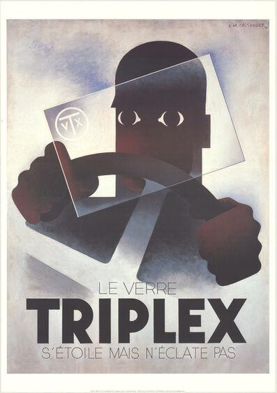 A.M. Cassandre, 'Triplex', 1998
