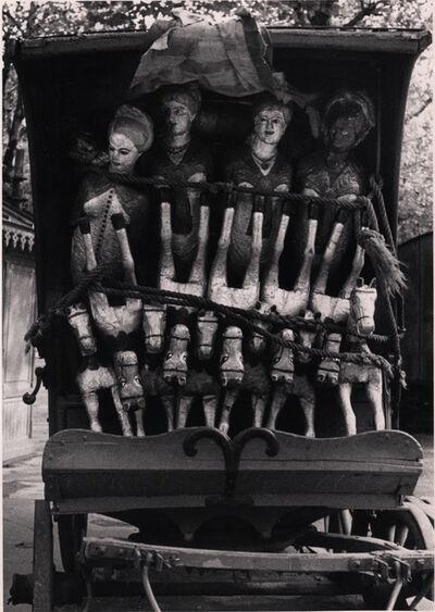 André Kertész, 'Chevaux de Bois, Paris', 1929
