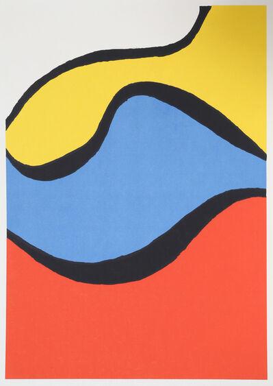 Nicholas Krushenick, 'Waves', ca. 1965