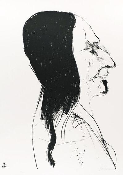 Leonard Baskin, 'Sitting Bull', 1972