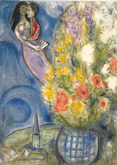 Marc Chagall, 'The Poppies | Les Coquelicots', 1949