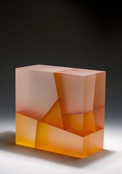 Jiyong Lee, 'White-orange Cuboid biaxial segmentation', 2014