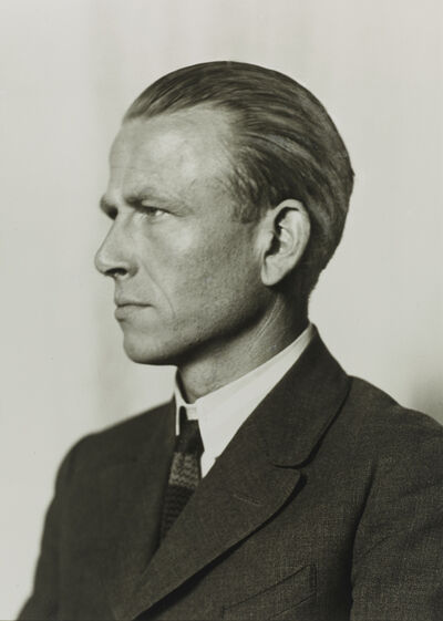 August Sander, 'Painter [Otto Dix]', 1924