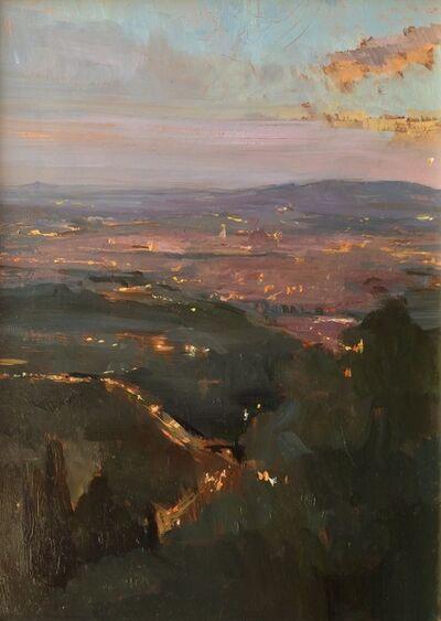 Melissa Franklin Sanchez, 'Nightfall Over Florence', 2015
