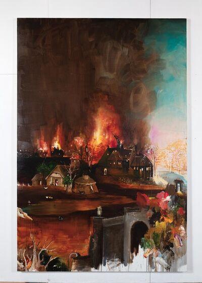 Tursic & Mille, 'Landscape (after Jheronimus Bosch St. Anthony's temptation)', 2018