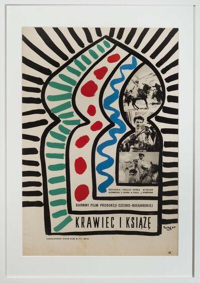 Wojciech Fangor, 'Krowiec i ksiqze', 1958