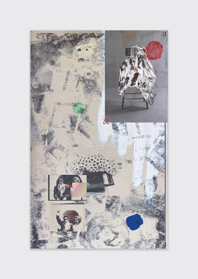 Carter Mull, 'Clock (Expensive Friends, G8 Chair, a142)', 2017