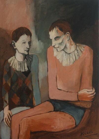 Pablo Picasso, 'Harlequin', 1906