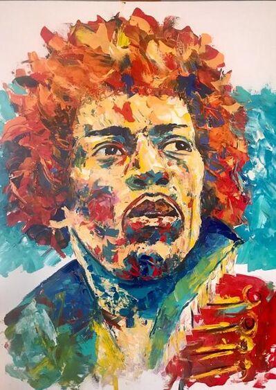 Aurino Jottar, 'Jimmy Hendrix', 2019