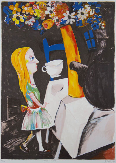 Charles Blackman, 'Always Teatime', ca. 1989