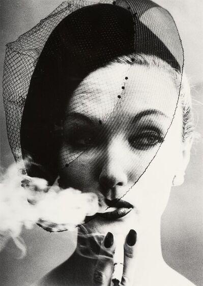 William Klein, 'Smoke+Veil, Paris (Vogue)', 1958