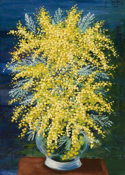 Moise Kisling, 'Petit mimosas', 1947